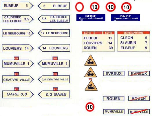 étiquette de panneaux routier mimo Pannea10