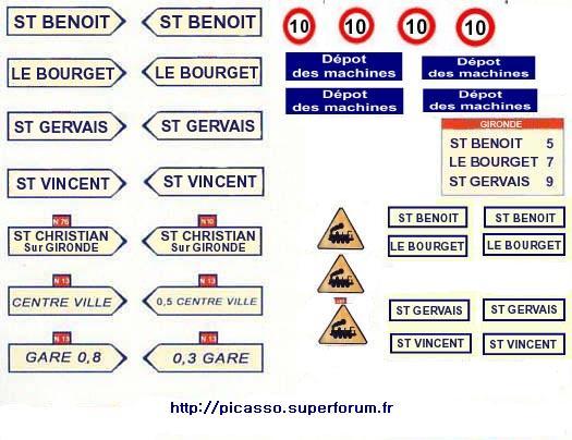 étiquette de panneaux routier mimo Pannea11