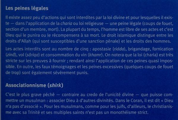 Comprendre l'islam, mots clès 314