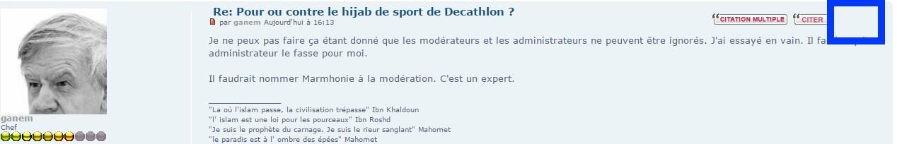 Pour ou contre le hijab de sport de Decathlon ? - Page 4 Modera10
