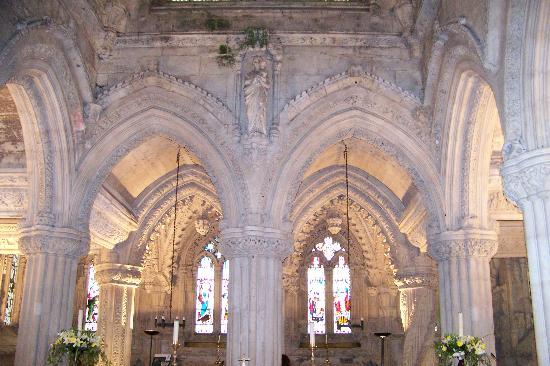 rosslyn - Roslyn Chapel - Edimbourg - Ecosse Interi10