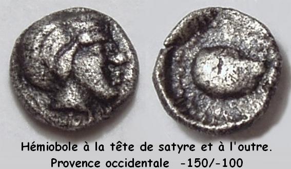 hémiobole des Salyens P1010016