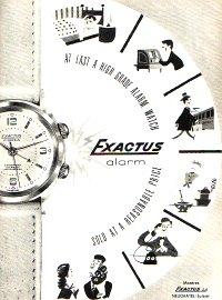 """Montres réveils """"Bracelets"""" liste non exhaustive Exactu10"""