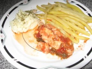 Blanc de poulet et salsa  Img_1614