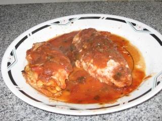 Blanc de poulet et salsa  Img_1635