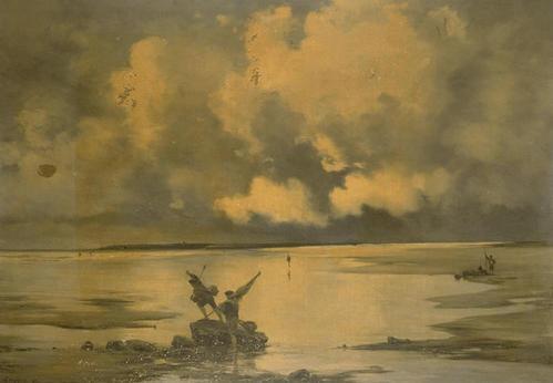 La Bretagne vue par les peintres Lansye10