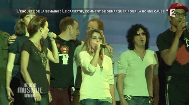 Captures FR2 Hebdo Musique Mag << Reportage Le caritatif, comment se démarquer pour la bonne cause >> 20/10/2012 Hebdo110