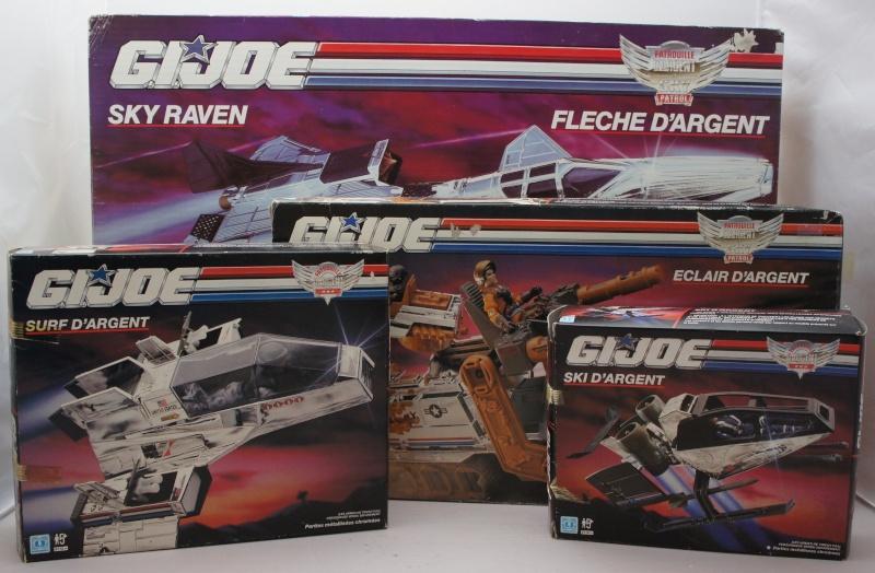 Gi-Joe - Sky Patrol: La patrouille d'argent (Hasbro) 1990 Sky_pa11