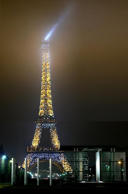 Tour Eiffel dans le brouillard Eiffel10