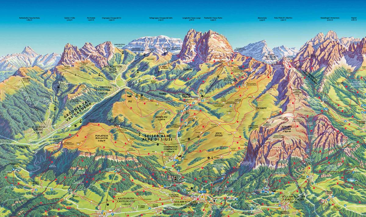 Virée dans les Alpes italiennes, du Piémont aux Dolomites Carte10