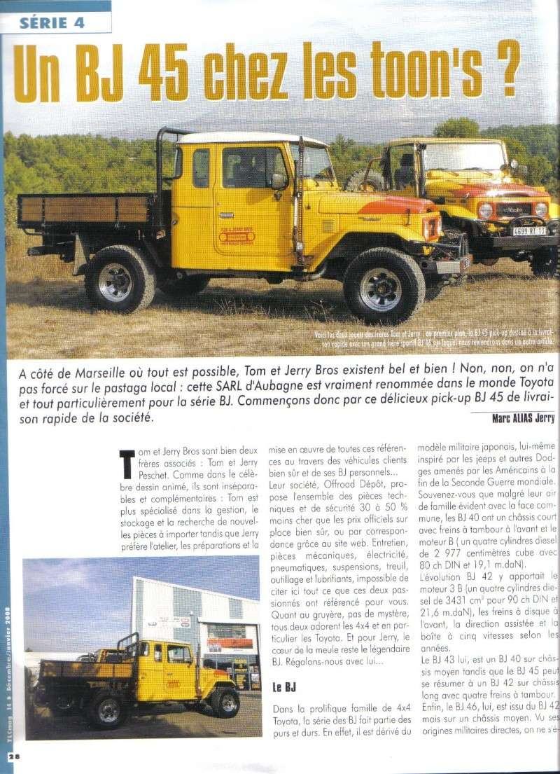TOYOATA BJ45 façon TOM & JERRY BROS OFF ROAD DEPOT Tlc_1411