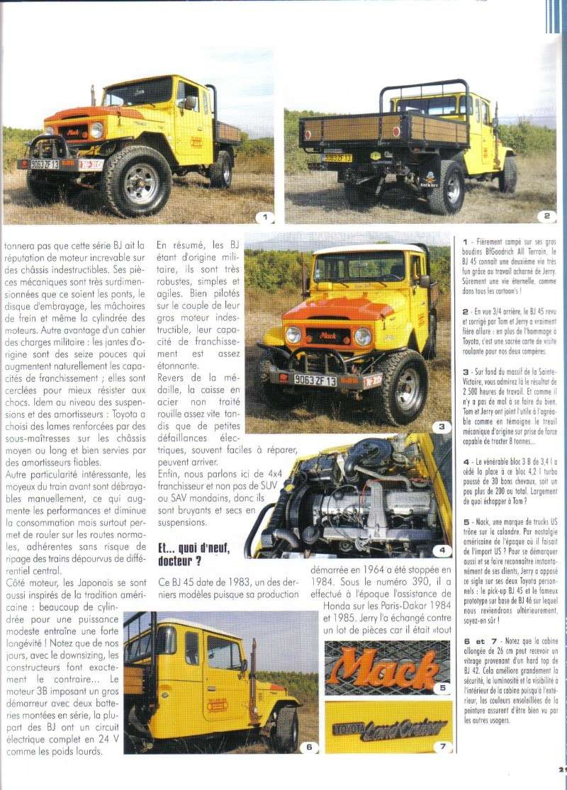 TOYOATA BJ45 façon TOM & JERRY BROS OFF ROAD DEPOT Tlc_1412