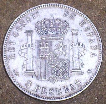5 Pesetas de Alfonso XIII (Madrid, 1897 d.C) 5_pese11