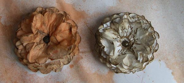 fleur en papier tendance shabby Dscn4817