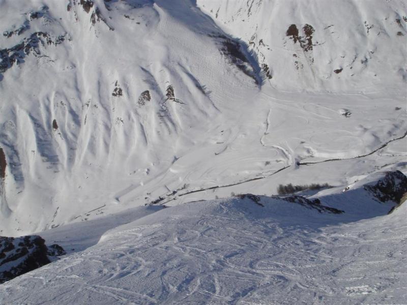 Survol de Val d'Isère en parapente Dsc05813