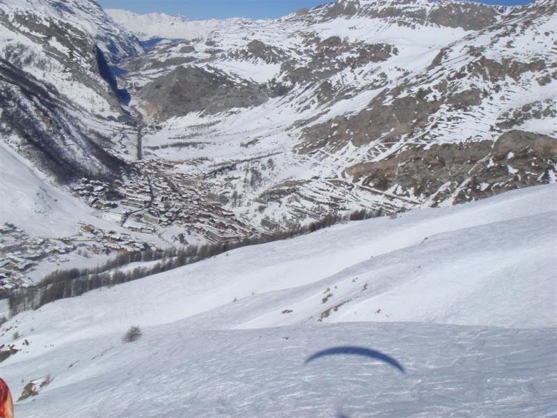 Survol de Val d'Isère en parapente Dsc05815
