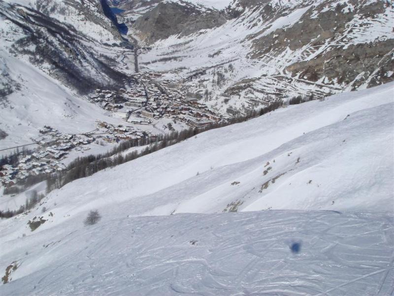 Survol de Val d'Isère en parapente Dsc05816