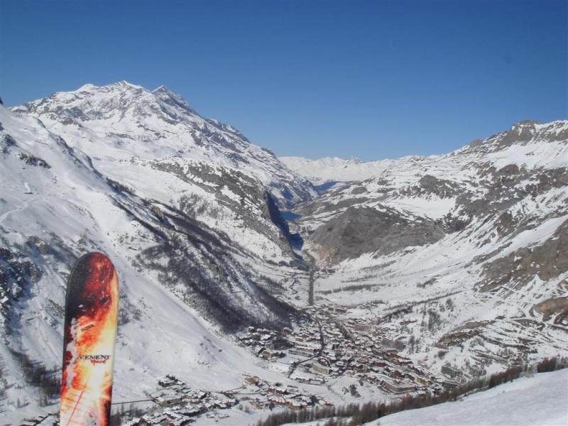 Survol de Val d'Isère en parapente Dsc05817