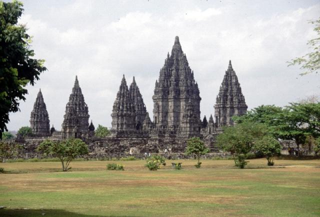 L'ensemble de Prambanan, Kalasan, Yogyakarta, Indonesie Om431-12