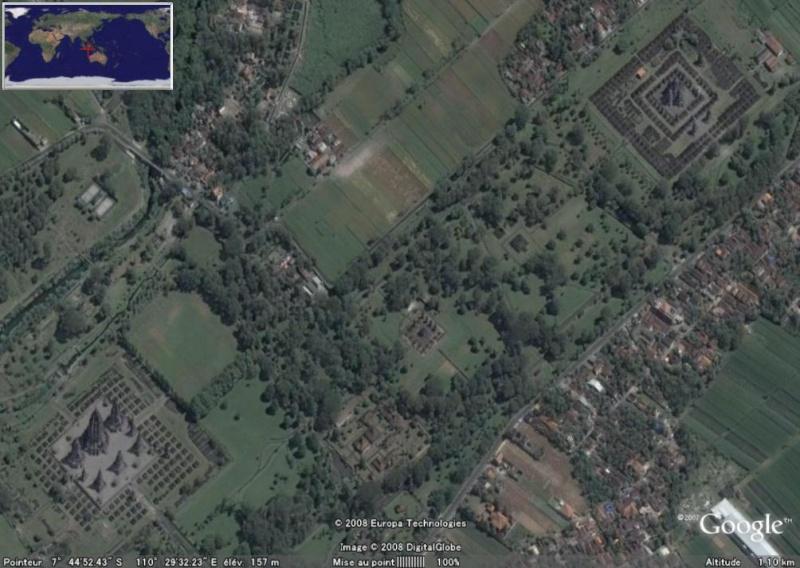 L'ensemble de Prambanan, Kalasan, Yogyakarta, Indonesie Pramba10