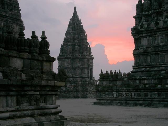 L'ensemble de Prambanan, Kalasan, Yogyakarta, Indonesie Pramba13
