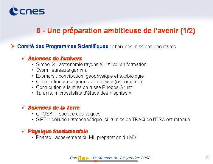 Nicolas Sarkozy en Guyane Française - Page 2 Cnes_p10