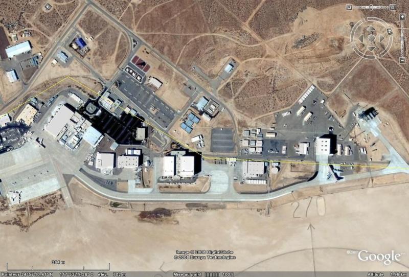 Centre de recherches d'aviation de DRYDEN - Californie Centre10