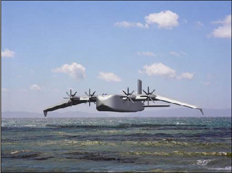 Le monstre de la mer Caspienne, l'ekranoplane - Russie  - Page 3 Pelica10