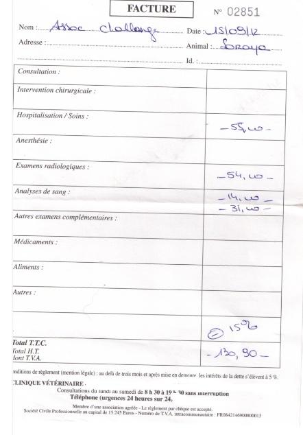 Le(s) combat(s) de Soraya----+600€ de frais help  Factur11