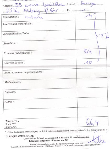Le(s) combat(s) de Soraya----+600€ de frais help  Factur12