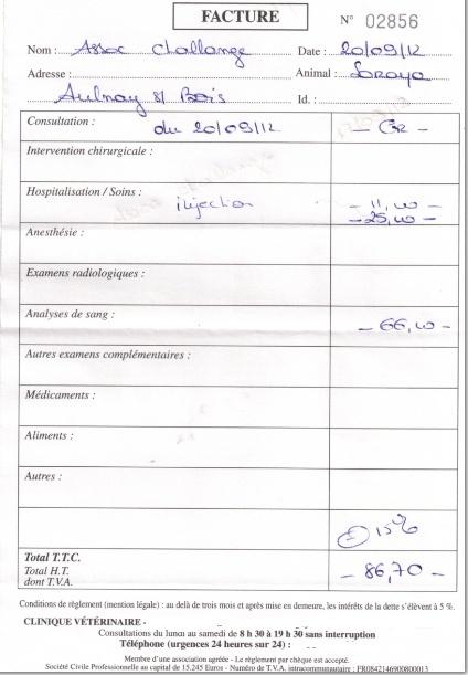 Le(s) combat(s) de Soraya----+600€ de frais help  Factur13