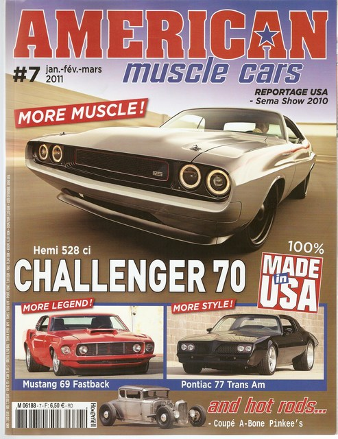 american muscle cars and hot rods #7 Mini-n38