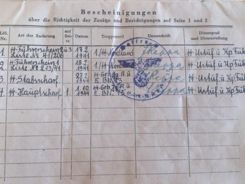 Vos livrets militaires allemands WWII (Soldbuch, Wehrpass..) / Heer-LW-KM-SS... Dsc_0020