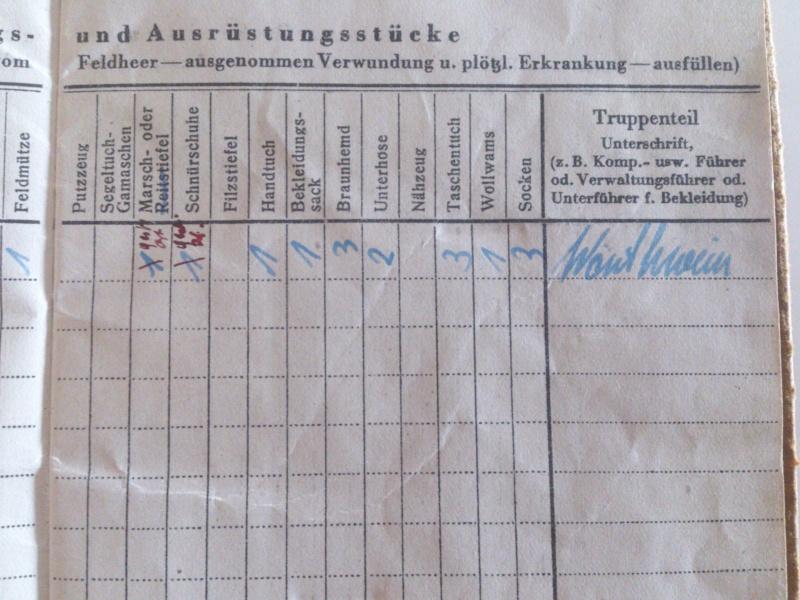 Vos livrets militaires allemands WWII (Soldbuch, Wehrpass..) / Heer-LW-KM-SS... Dsc_0024
