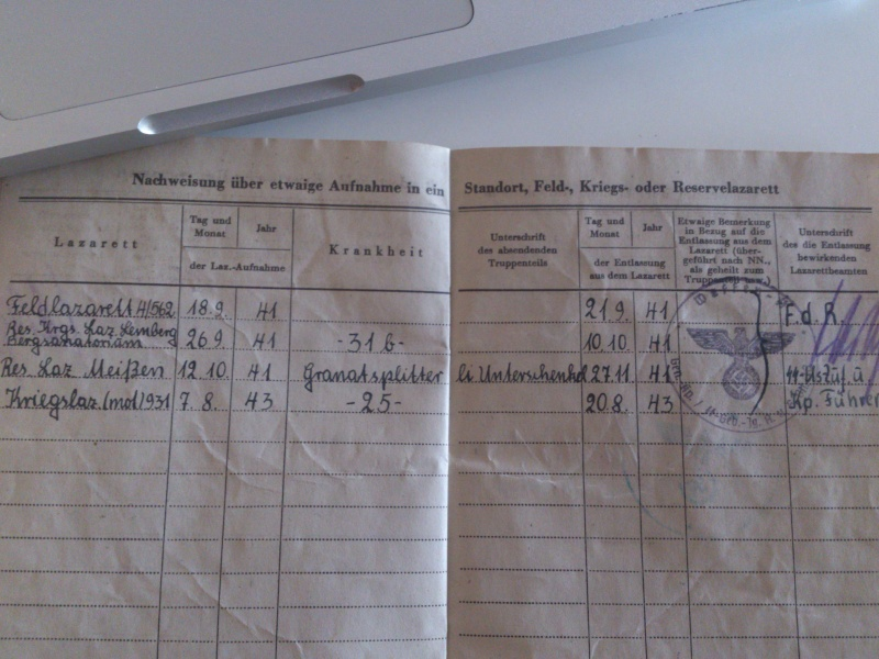 Vos livrets militaires allemands WWII (Soldbuch, Wehrpass..) / Heer-LW-KM-SS... Dsc_0032