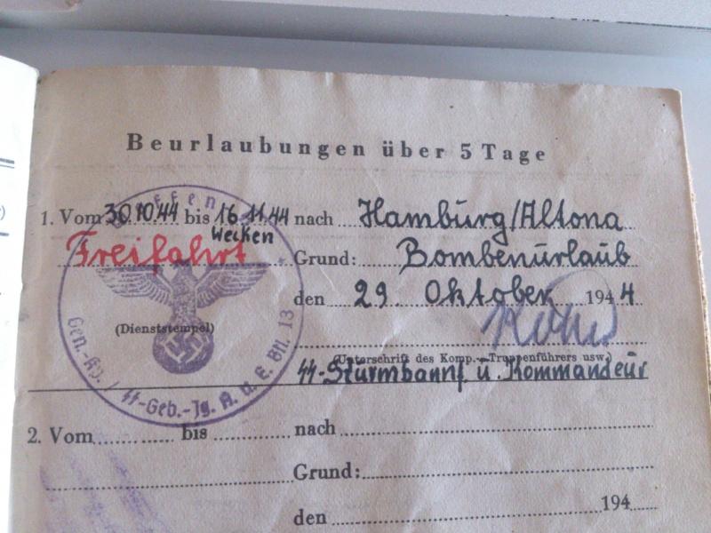 Vos livrets militaires allemands WWII (Soldbuch, Wehrpass..) / Heer-LW-KM-SS... Dsc_0036
