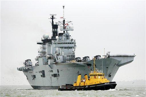 Aircraft Carriers (HMS Ark Royal & HMS Illustrious) 33568910