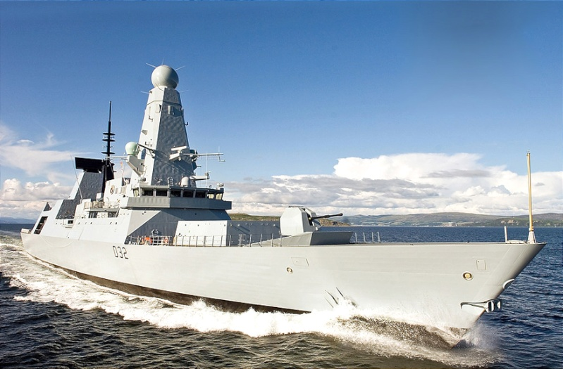 Type 45 Class destroyer Daring10