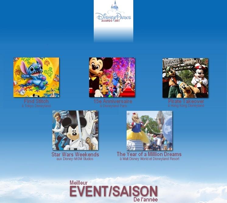Disney Parks Awards 2007 : LES VOTES SONT OUVERTS Event10