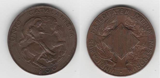 5 Céntimo de Pts. de la Unión Catalanista (Barcelona, 1900) Unio_c10