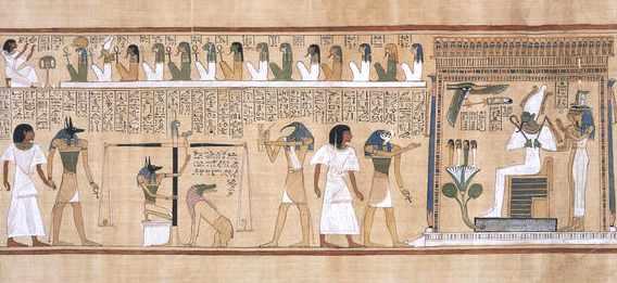 Le livre des morts égyptien Livred10