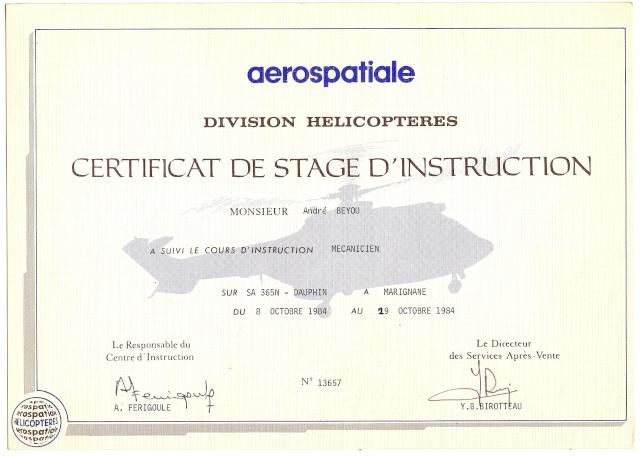 [ Aéronavale divers ] Hélicoptère DAUPHIN - Page 2 Diplom10