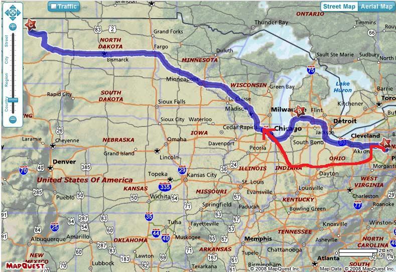 Countdown to Montana Map10