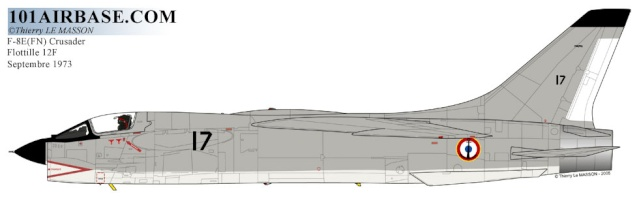 [Aéronavale divers] Une pensée pour les Crusaders - Page 2 F-8e-c10