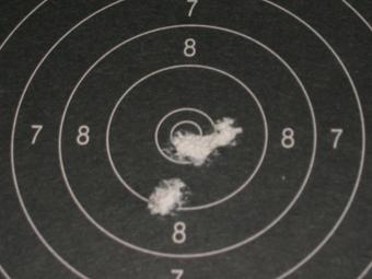 Test Munitions RS1 22 lr (canon flûté) [tableaux + cartons] Eley_c11