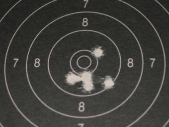 Test Munitions RS1 22 lr (canon flûté) [tableaux + cartons] Eley_p10