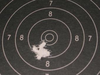 Test Munitions RS1 22 lr (canon flûté) [tableaux + cartons] Lapua_13