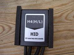 MEILLEUR ECLAIRAGE ET VISIBILITE Montage Kit HID Bi-Xénon H4 1210