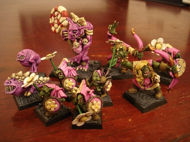Tom's Pink Orcs & Goblins (and Squigs!) Pink_o10