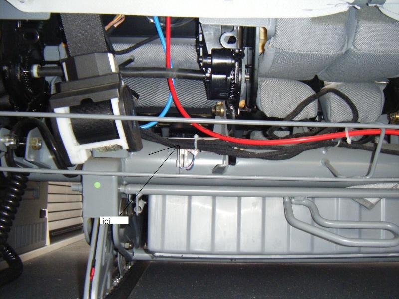 Remise à plat de la banquette electrique sur VMP Dscf0010